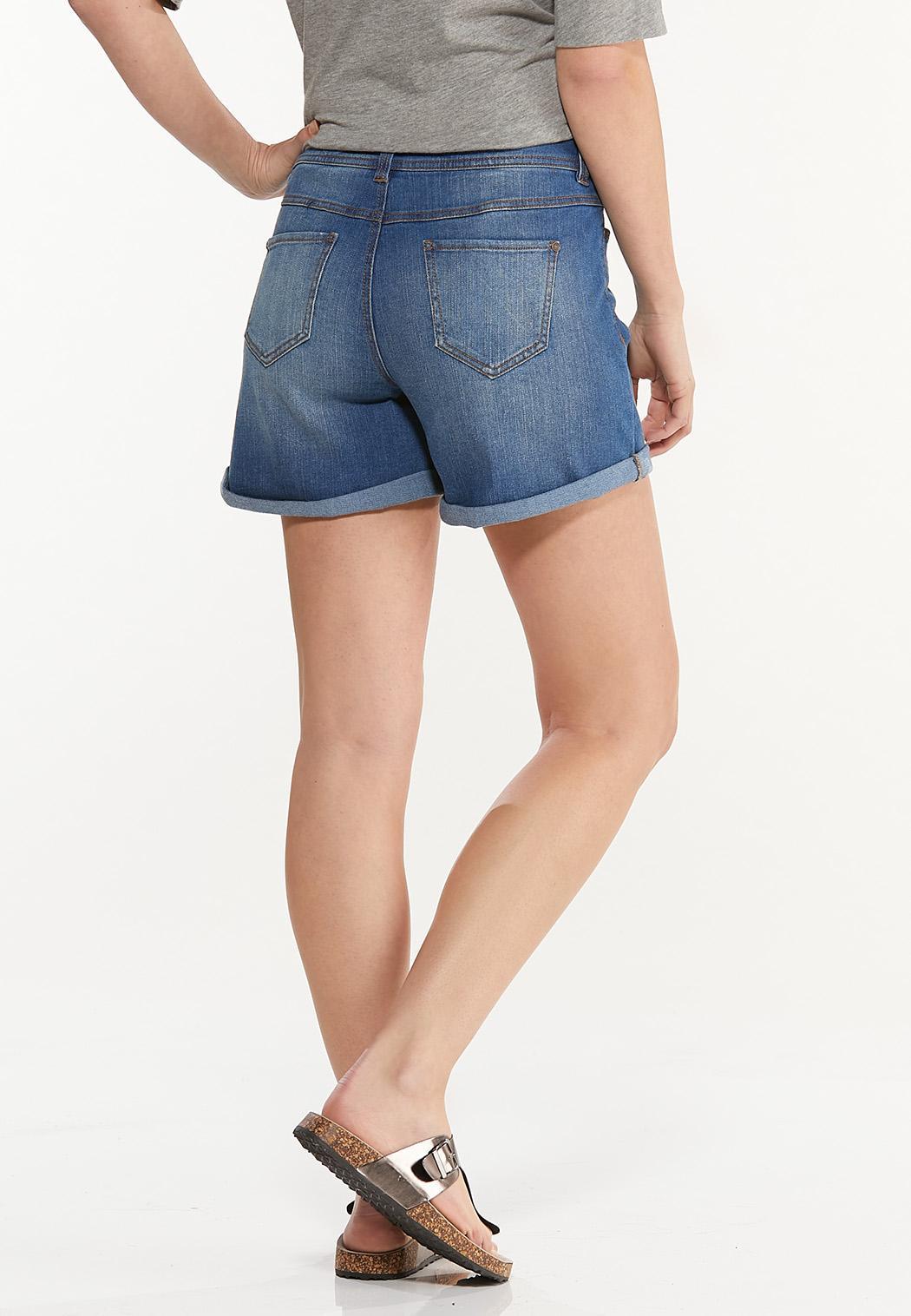 Shape Enhancing Denim Shorts (Item #44521777)