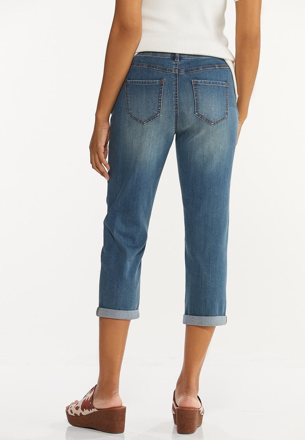 Girlfriend Cropped Jeans (Item #44521842)