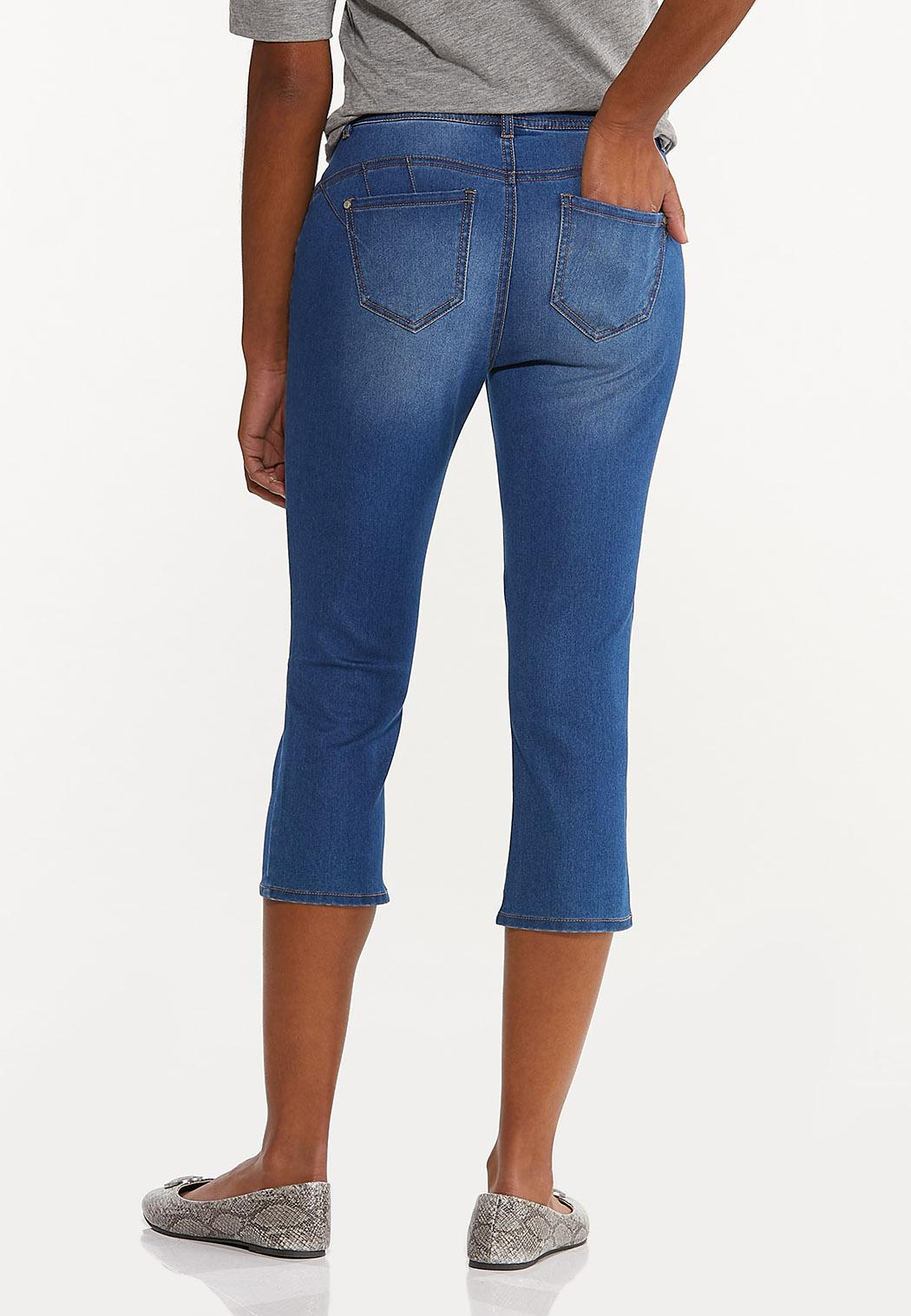 Perfect Cropped Jeans (Item #44522200)