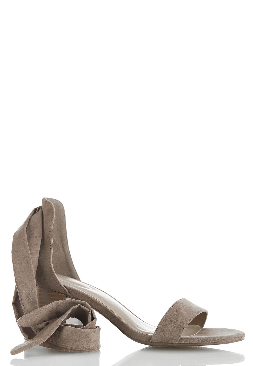 One Band Ankle Wrap Sandals (Item #44523139)