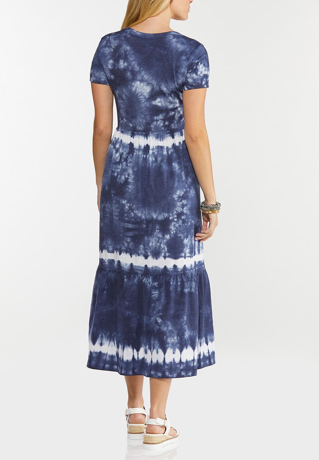 Tiered Tie Dye Dress (Item #44524149)