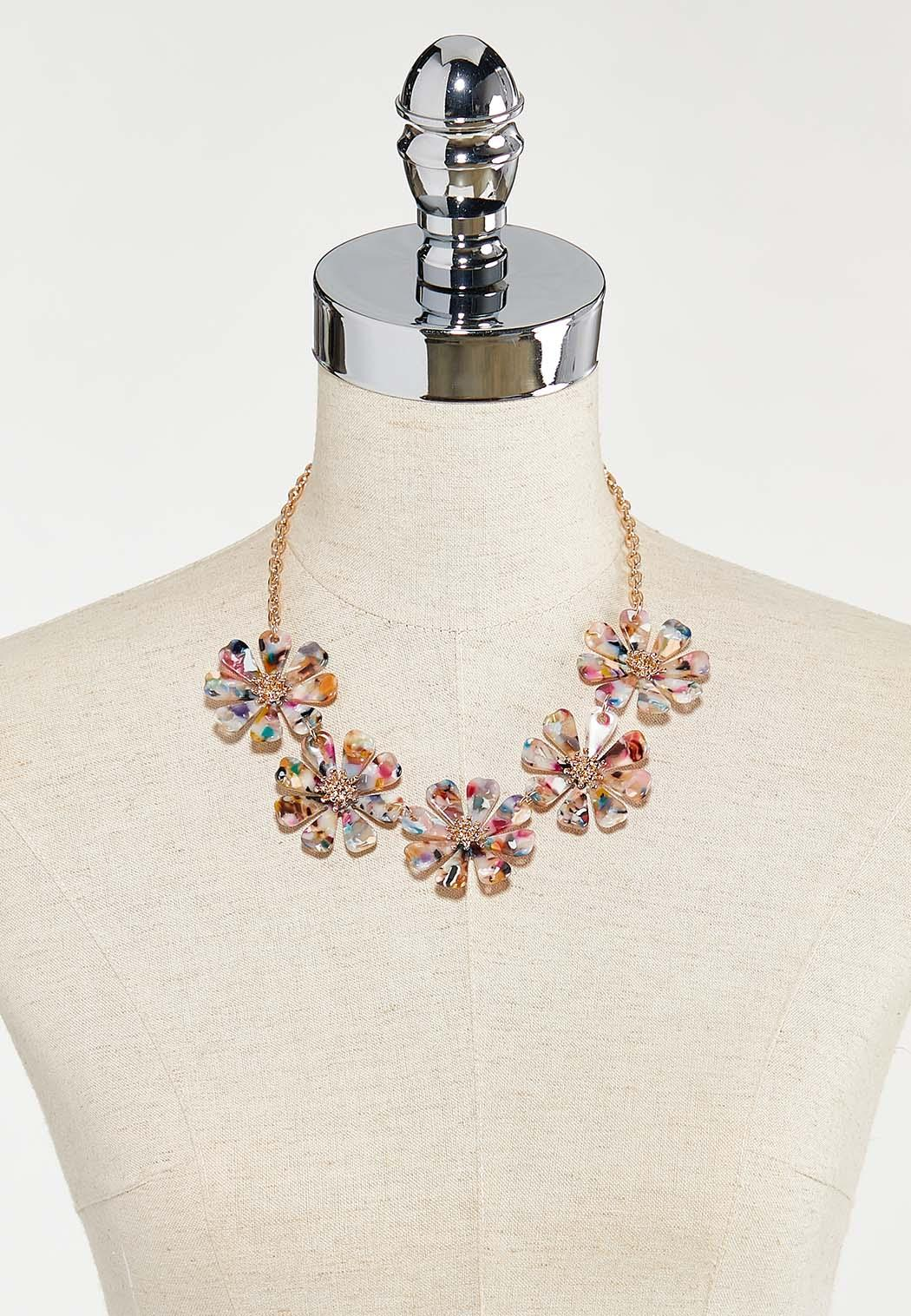 Rainbow Petal Necklace (Item #44524178)