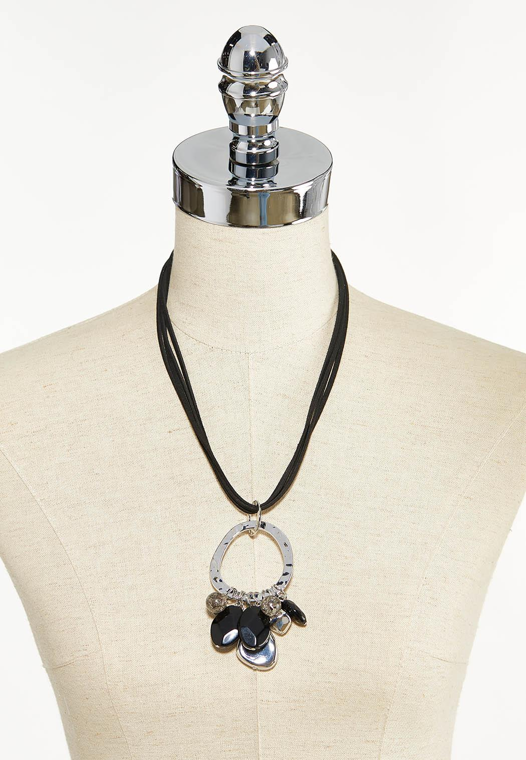Shaky Pendant Cord Necklace (Item #44524743)