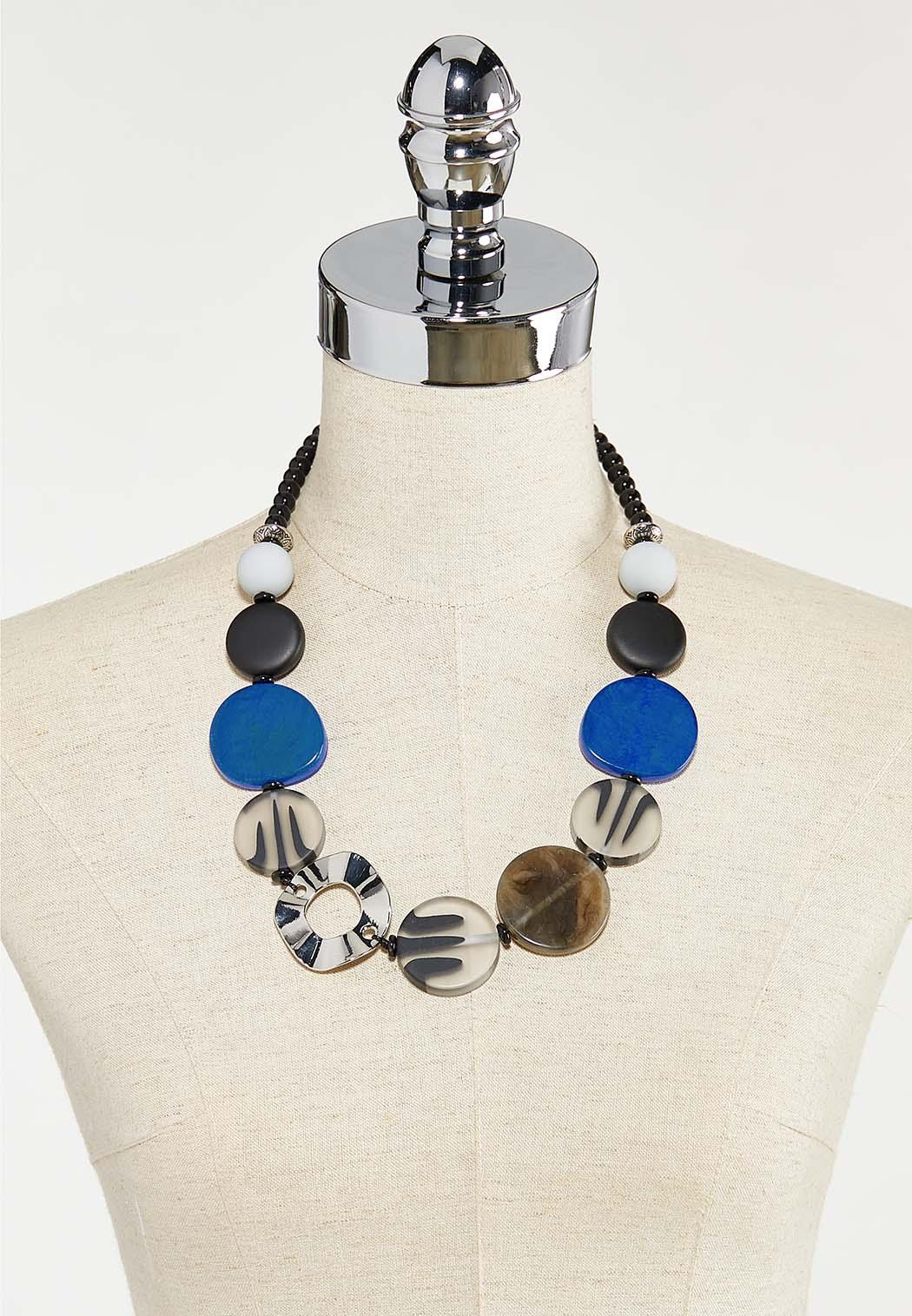 Bead Disc Statement Necklace (Item #44524815)