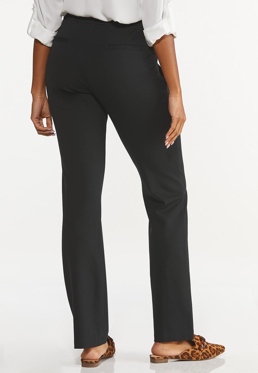 Petite Straight Leg Ponte Pants (Item #44527260)