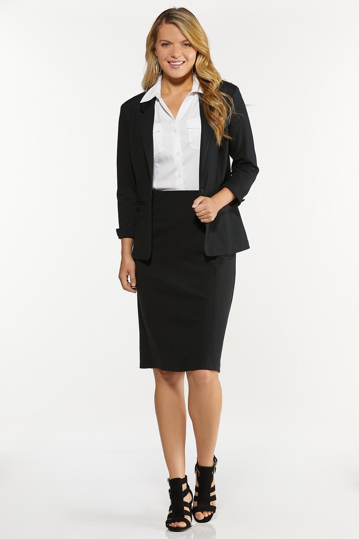 Ponte Pencil Skirt (Item #44527524)