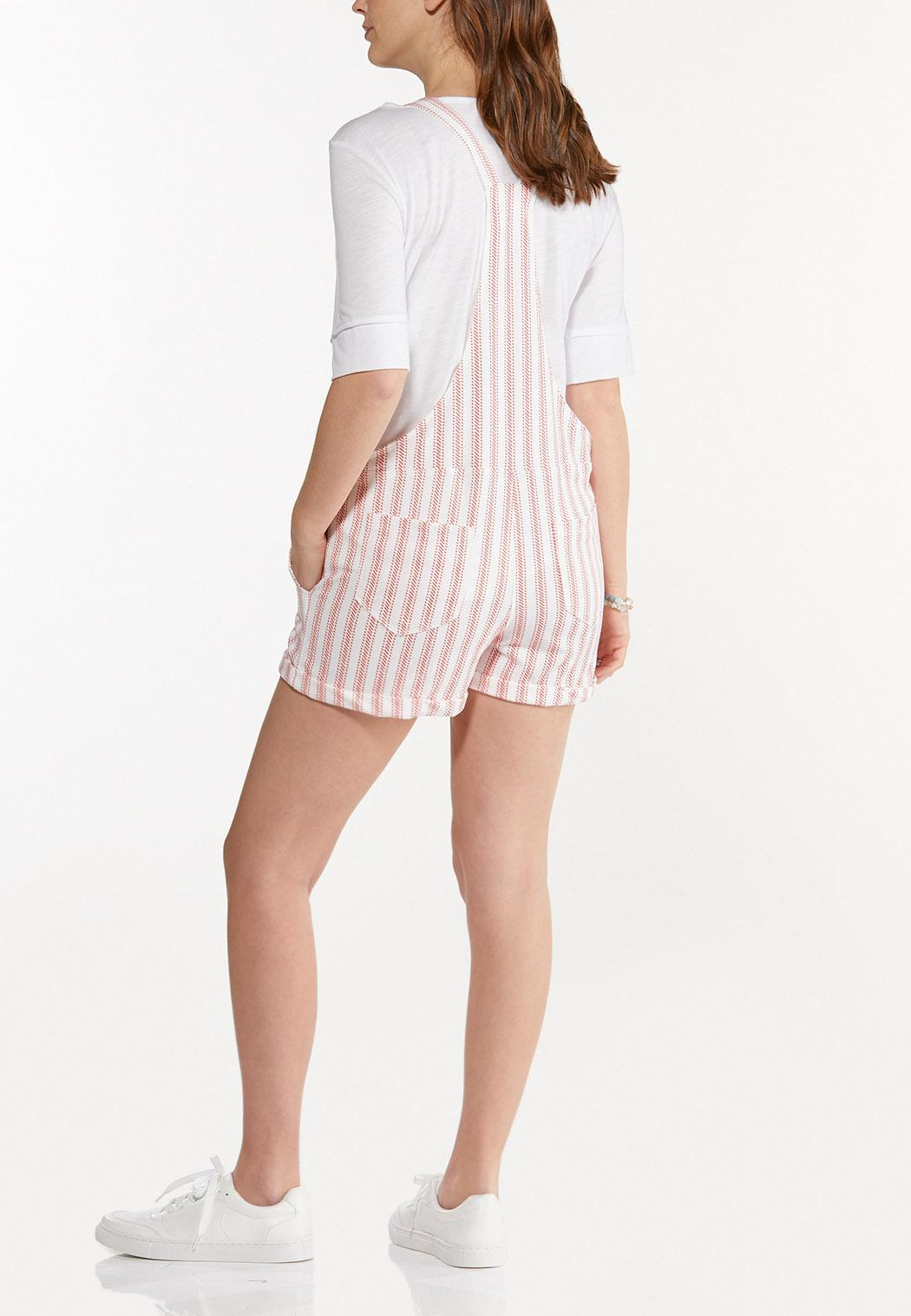 Dashing Stripe Overall Shorts (Item #44528070)