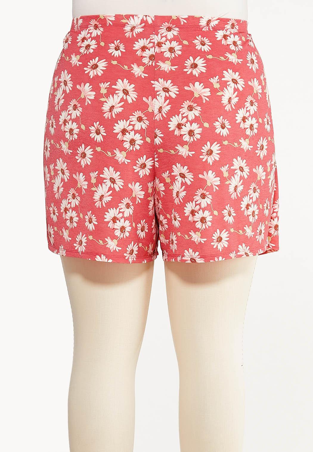 Plus Size Daisy Tie Waist Skort  (Item #44528371)