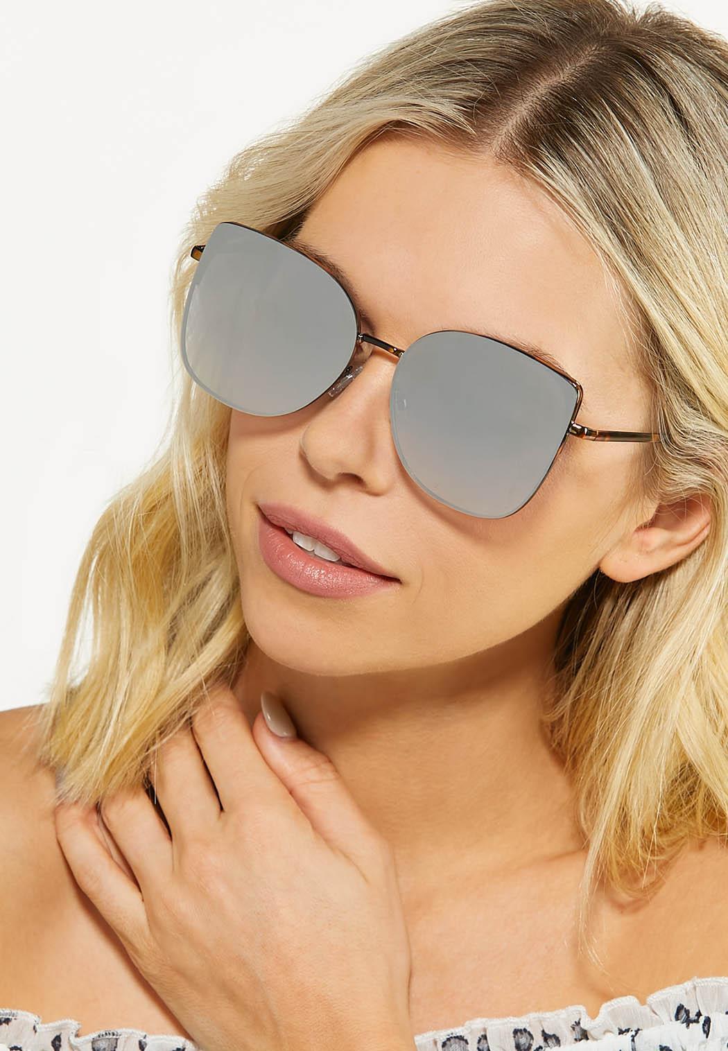 Geo Rimless Sunglasses (Item #44529290)
