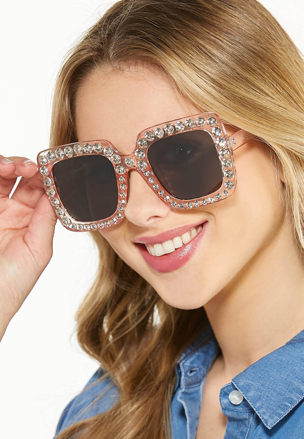 Embellished Square Sunglasses (Item #44530505)
