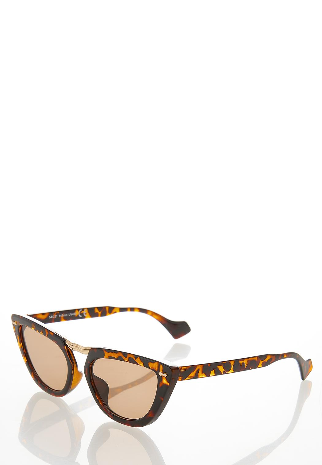 Tortoise Cat Eye Sunglasses (Item #44530592)
