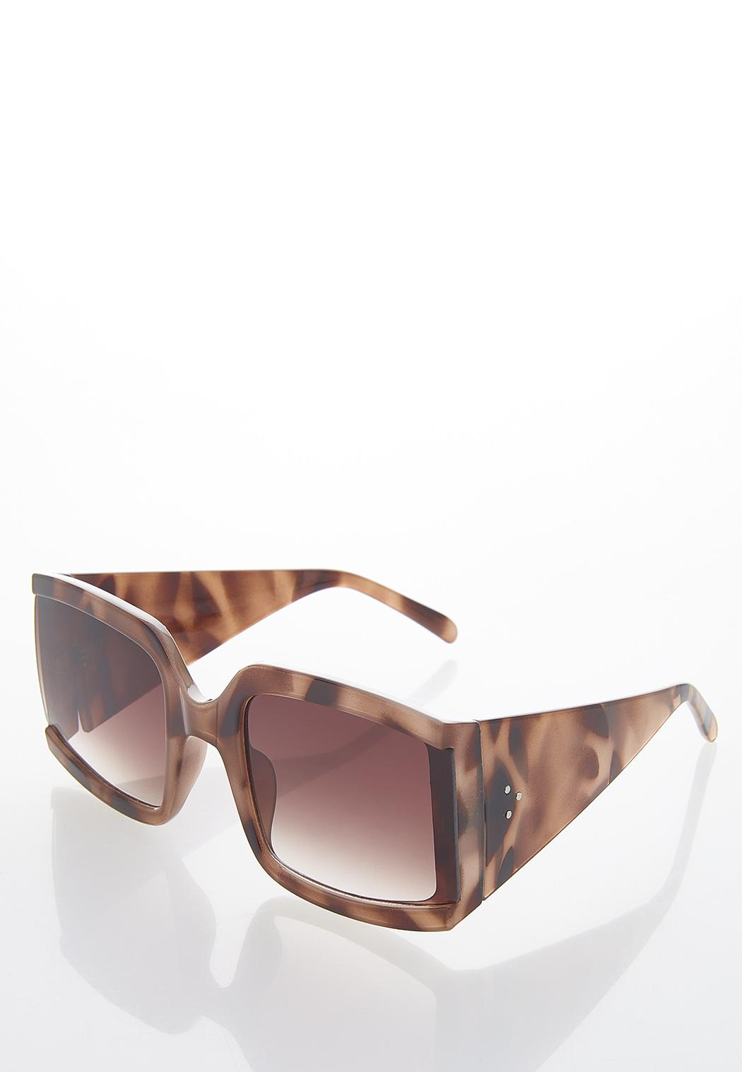 Tortoise Square Sunglasses (Item #44531694)