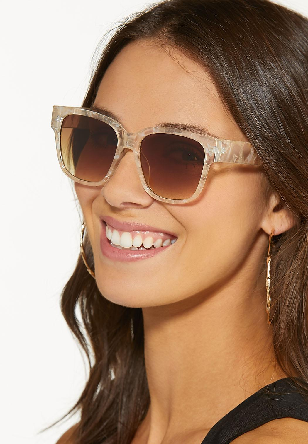 Clear Tortoise Sunglasses (Item #44531768)