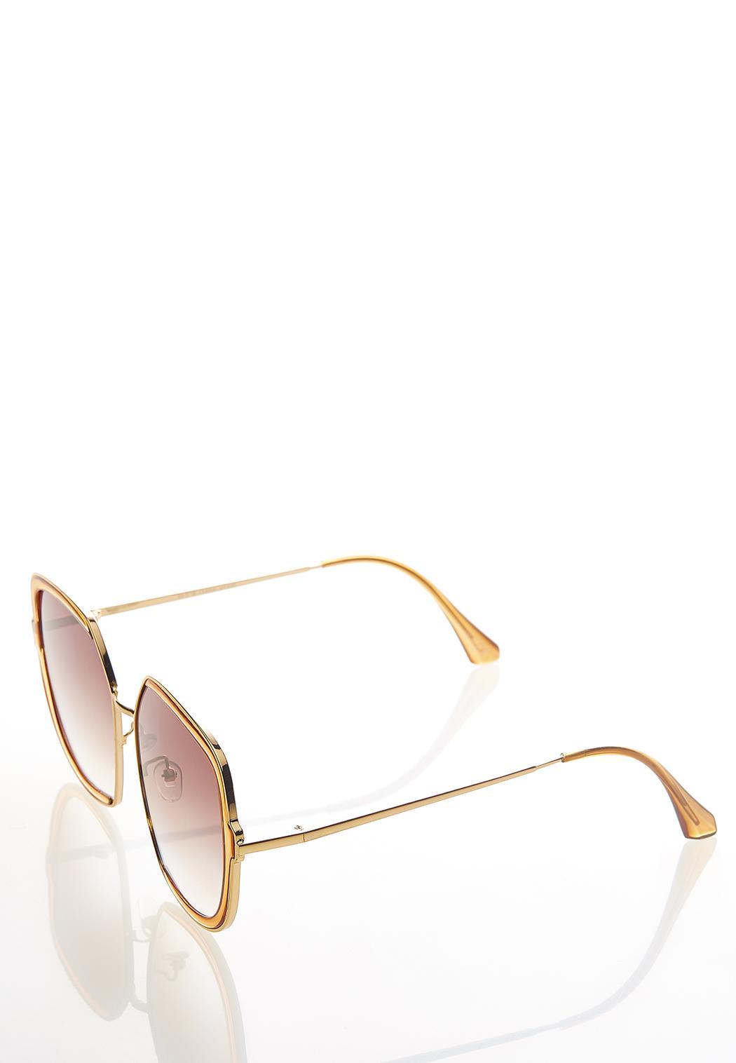 Oversized Orange Sunglasses (Item #44531858)