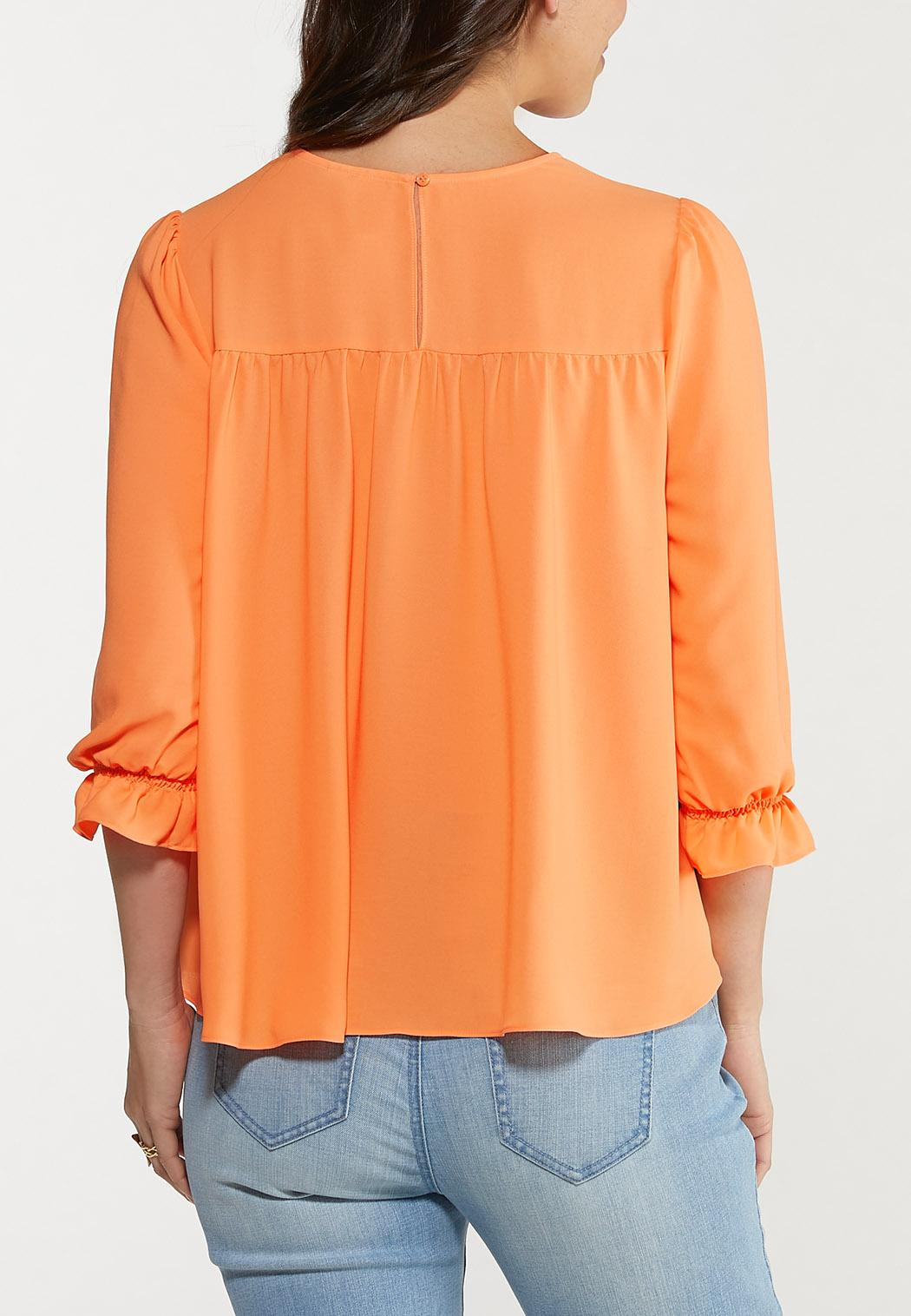 Plus Size Ray Of Sunshine Tiered Top (Item #44535966)