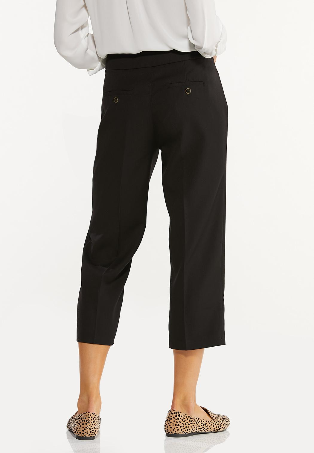 Cropped Trouser Pants (Item #44537216)