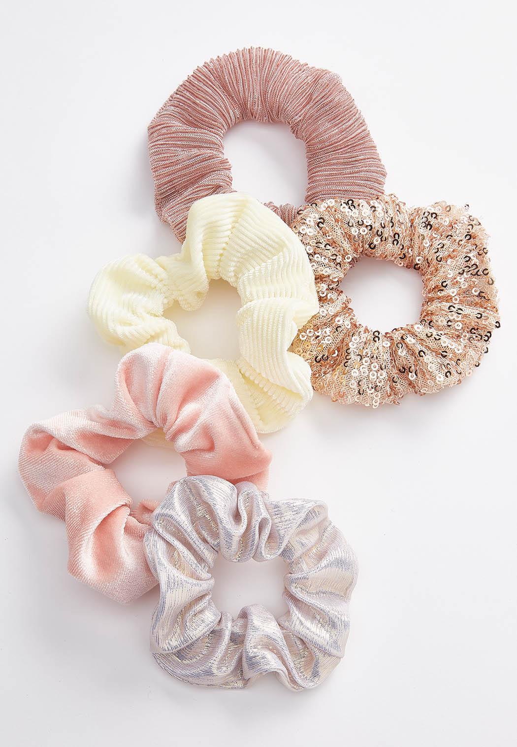 Fabirc Mix Scrunchie Set (Item #44541366)