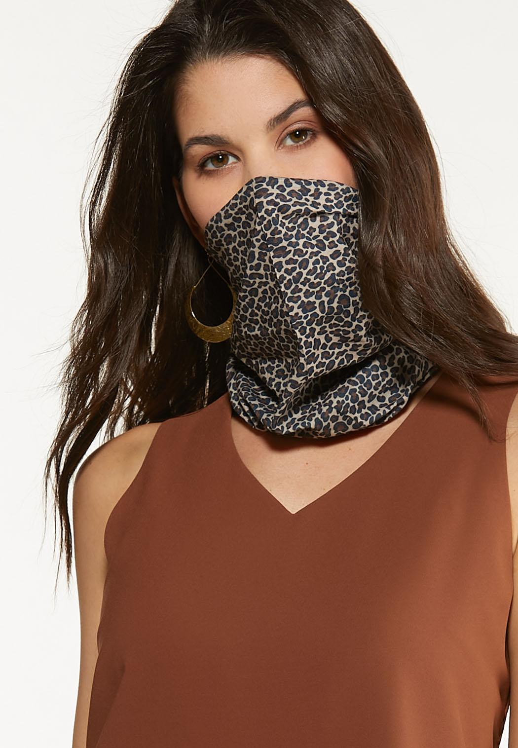 Leopard Hair Wrap And Mask (Item #44541483)