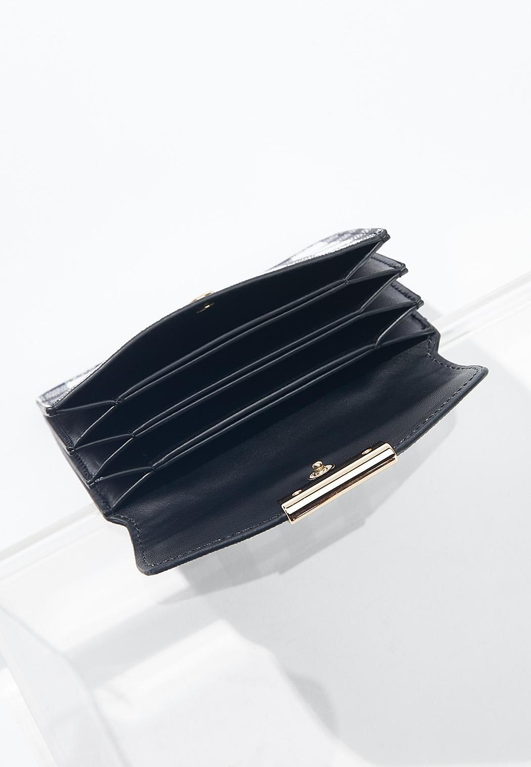 Gingham Mini Wallet (Item #44541822)