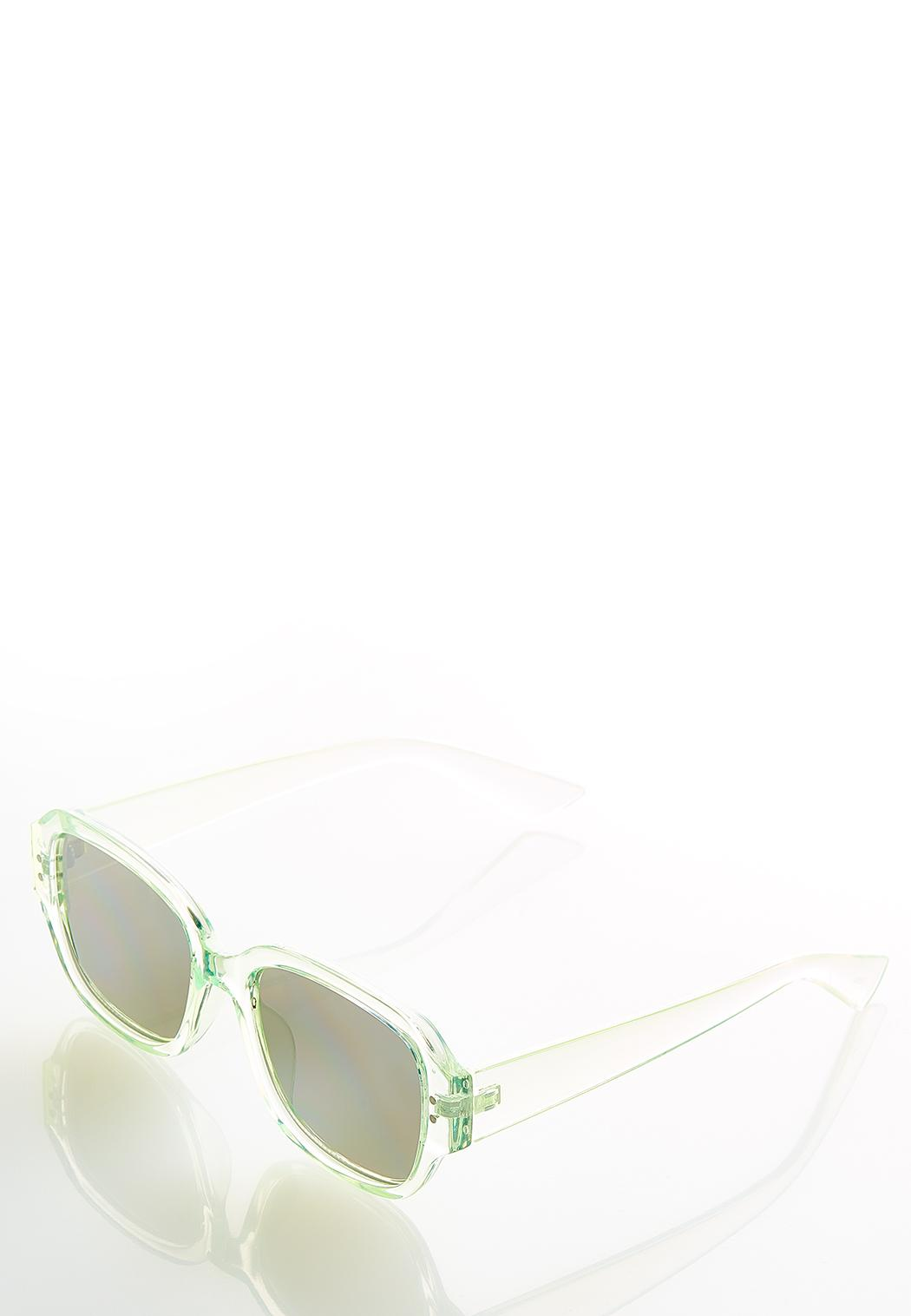 Green Mirrored Sunglasses (Item #44542446)