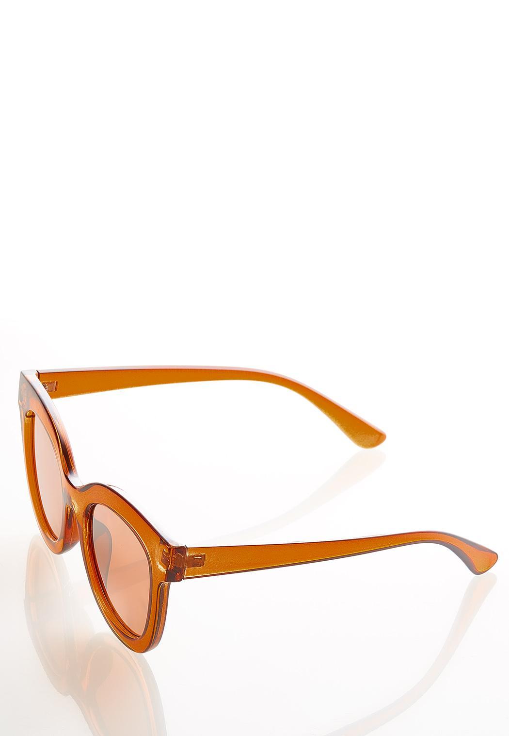 Tortoise Mirrored Sunglasses (Item #44542460)