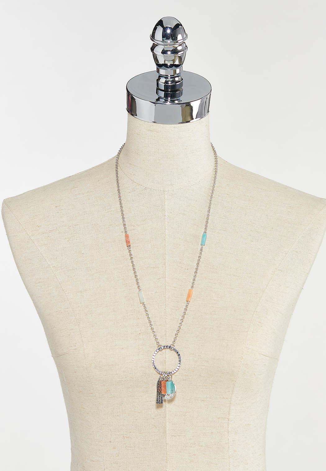 Inspirational Strength Charm Necklace (Item #44542914)