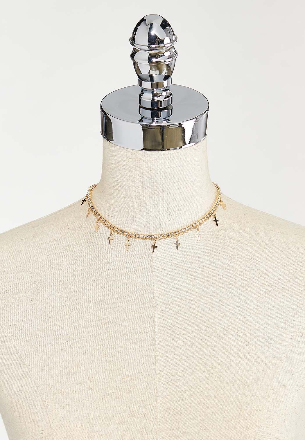 Cross Charm Bracelet (Item #44543321)