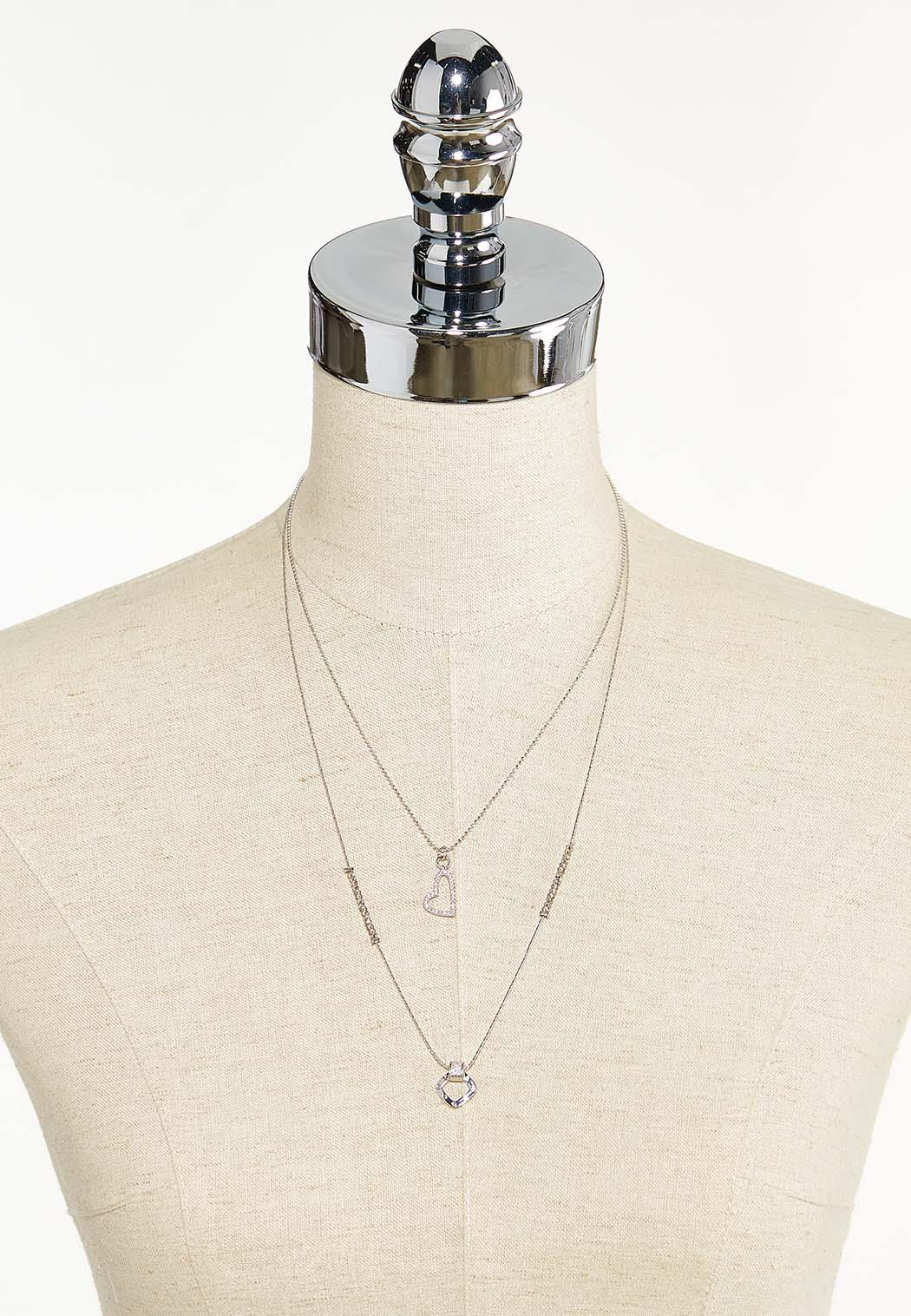 Delicate Charm Layered Necklace (Item #44543622)