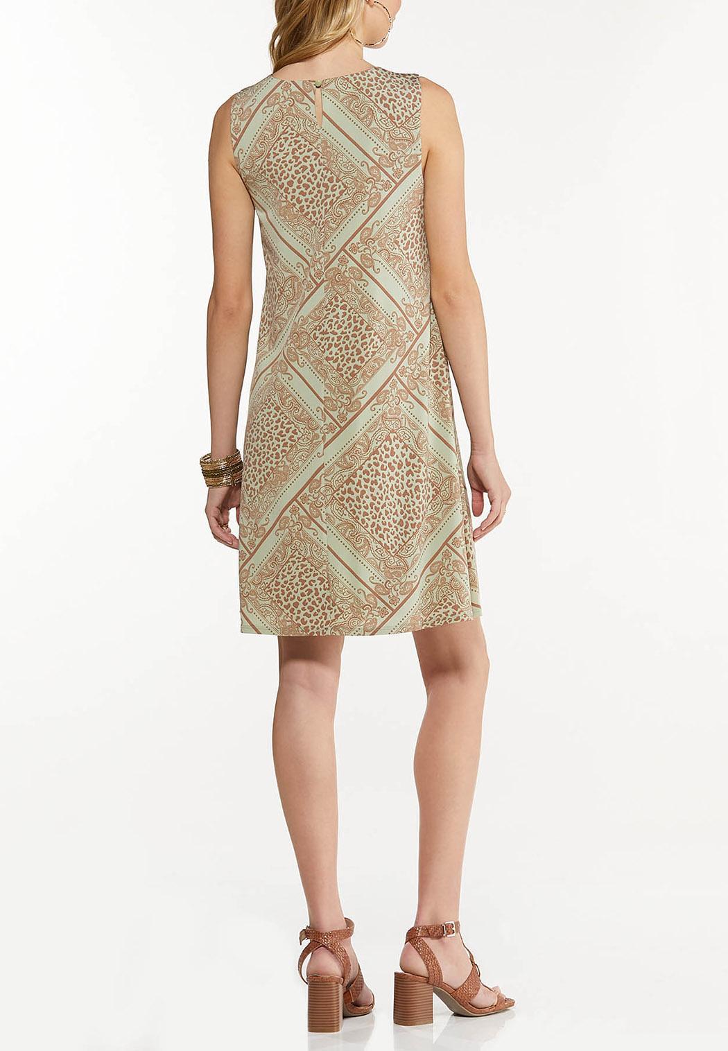 Leopard Diamond Swing Dress (Item #44543827)