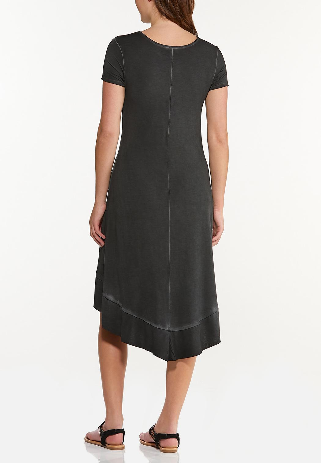 Plus Size Happiness Is Free T-Shirt Dress (Item #44544635)