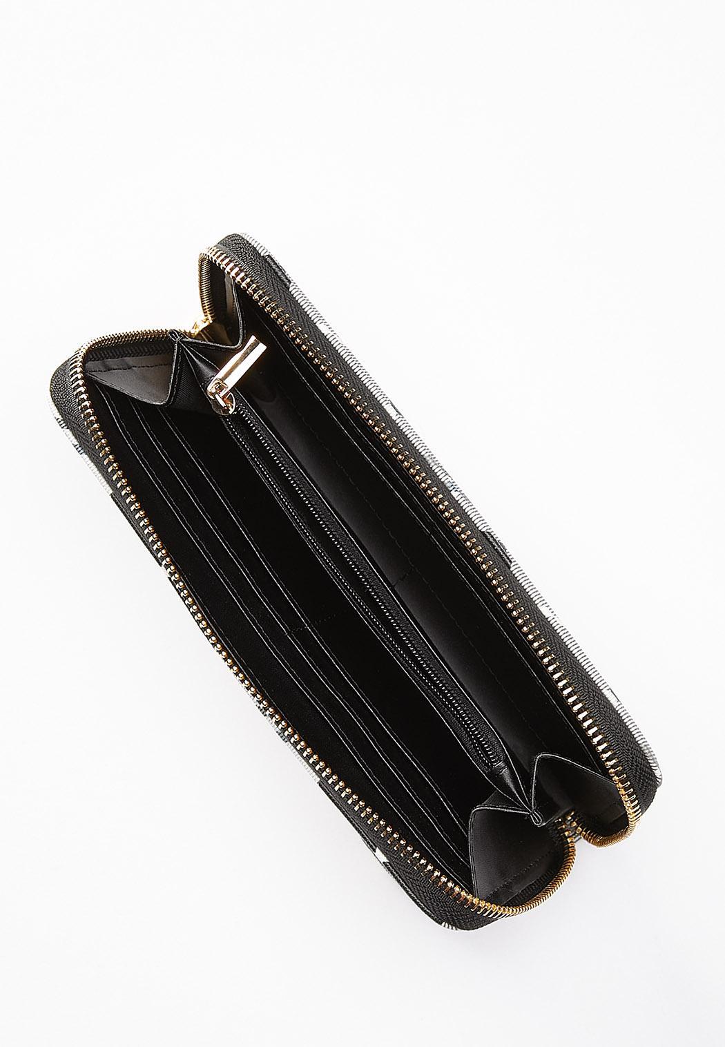 Plaid Wristlet Wallet (Item #44545487)
