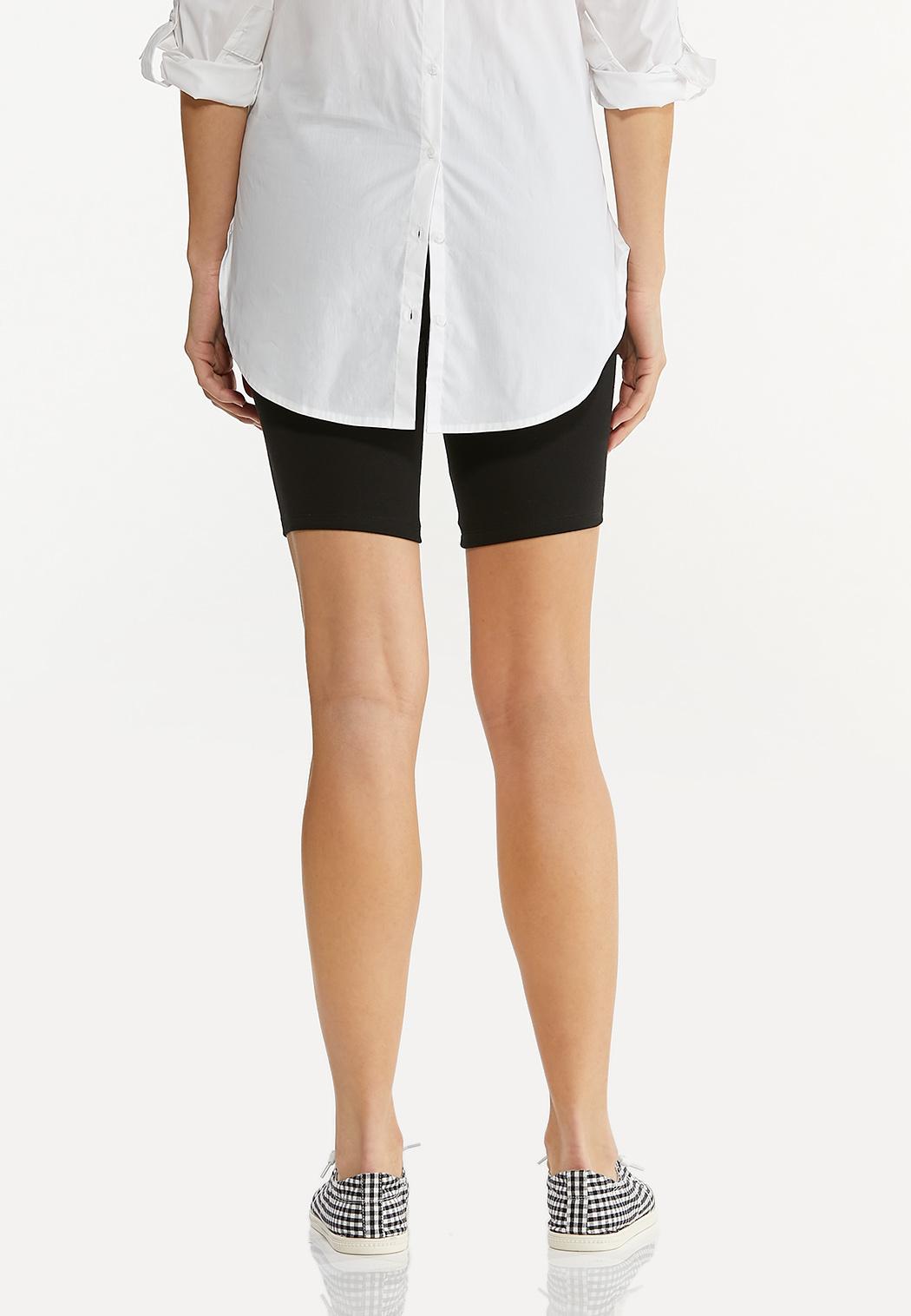 Solid Biker Shorts (Item #44548894)