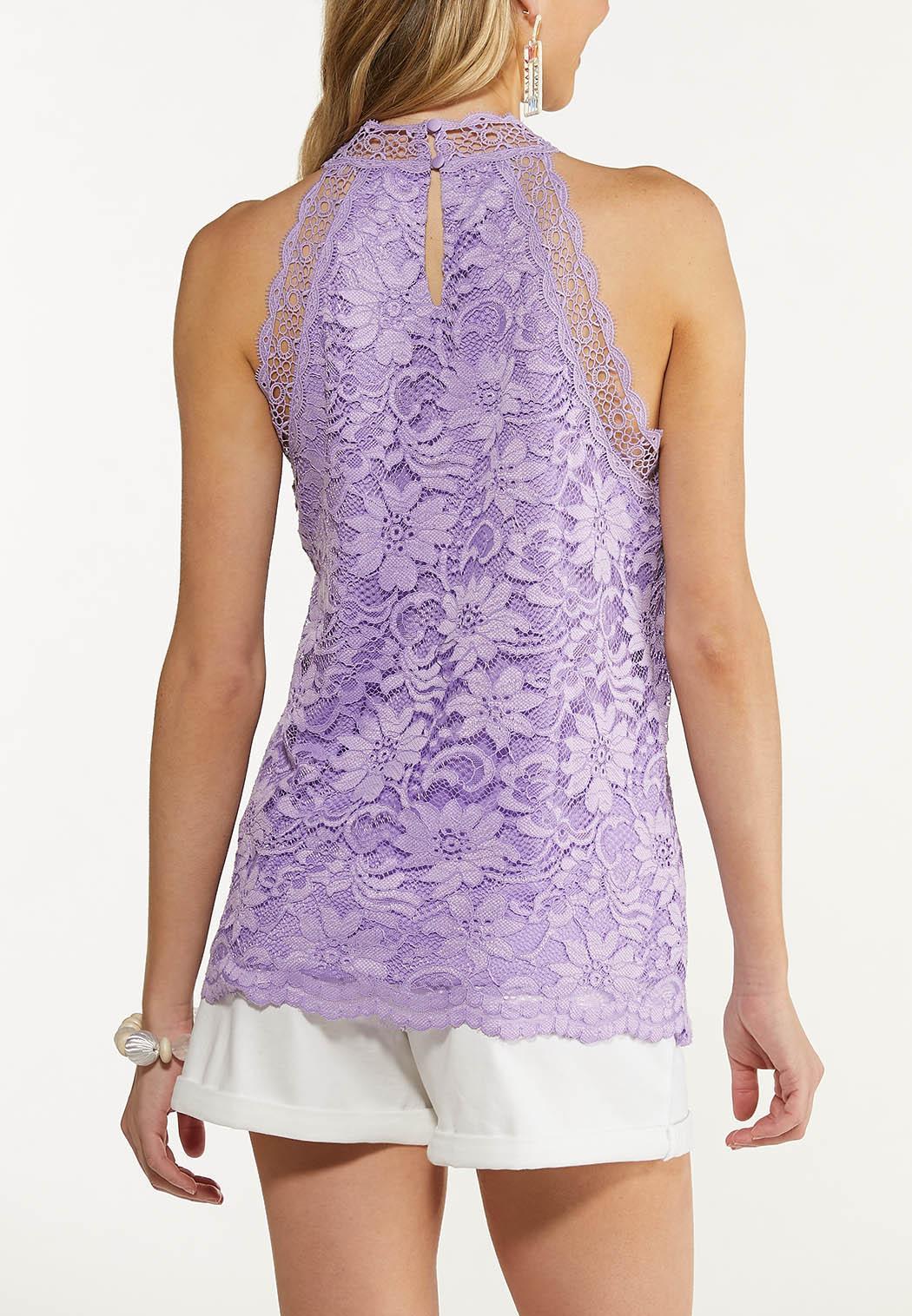 Lavender Lace Tank (Item #44550622)