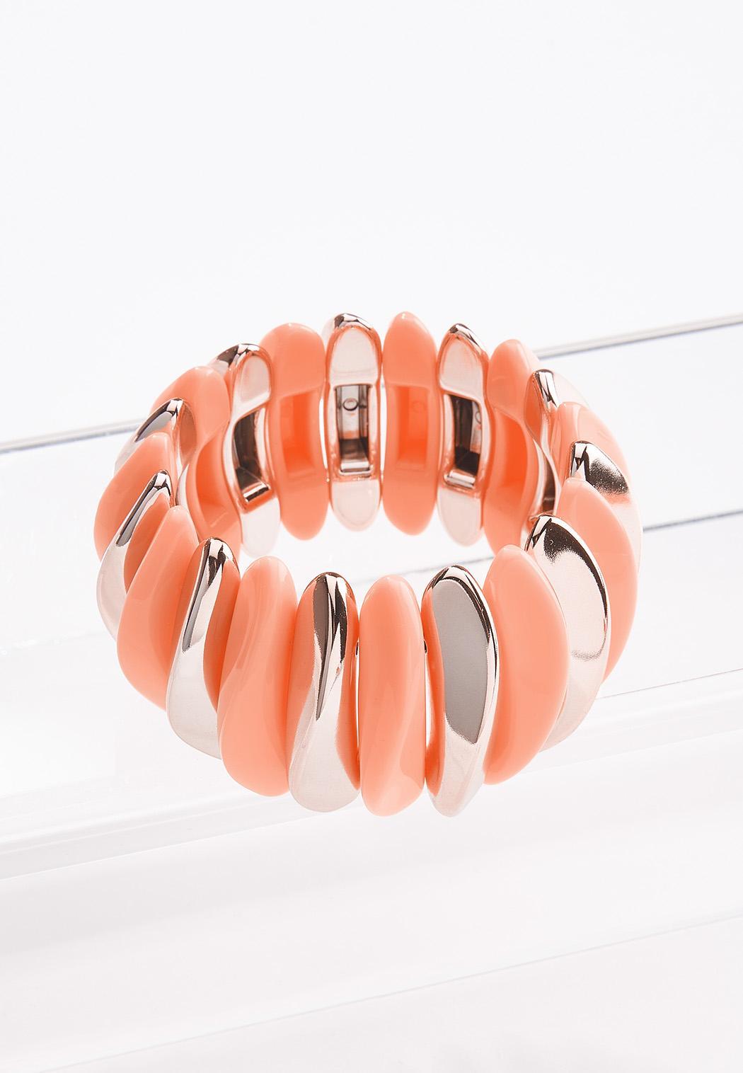 Modern Wide Band Stretch Bracelet (Item #44552277)