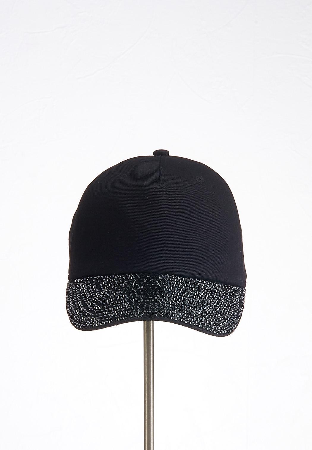 Black Bling Baseball Hat (Item #44554358)