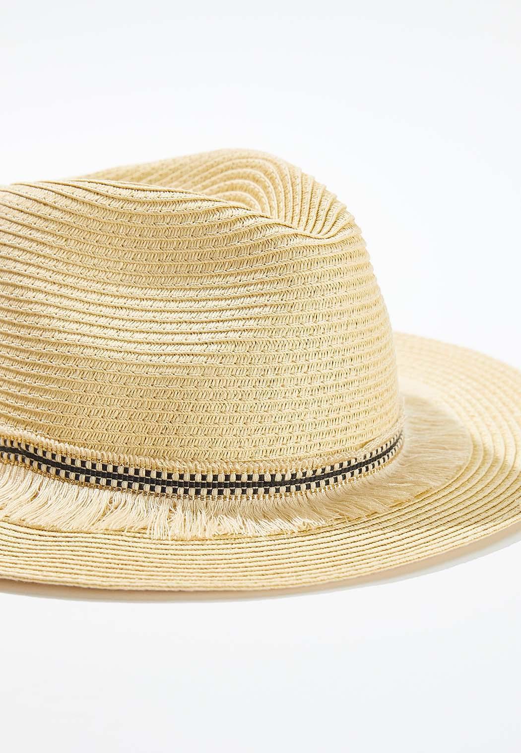 Fringe Band Panama Hat (Item #44554431)