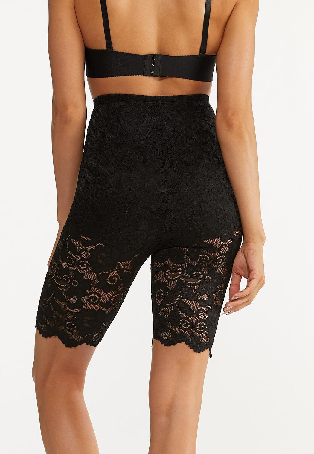 Plus Size Lace Shapewear Shorts (Item #44555749)