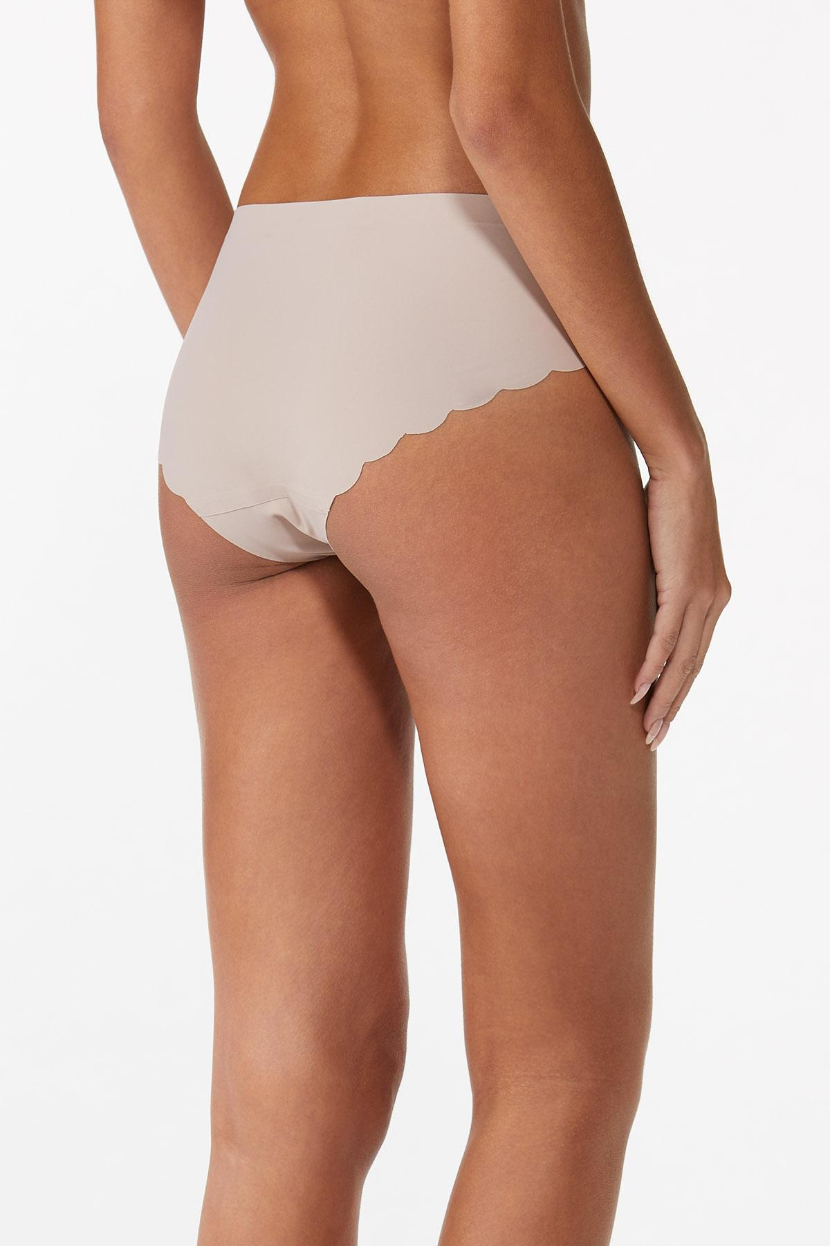 Nude Scalloped Seamless Panty (Item #44559104)