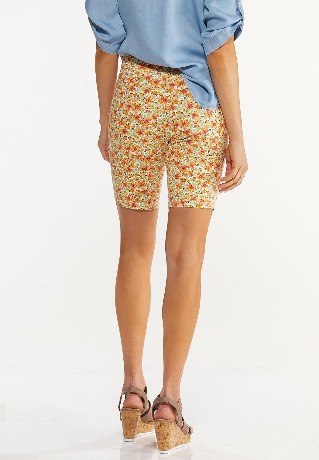 Floral Biker Shorts (Item #44559170)