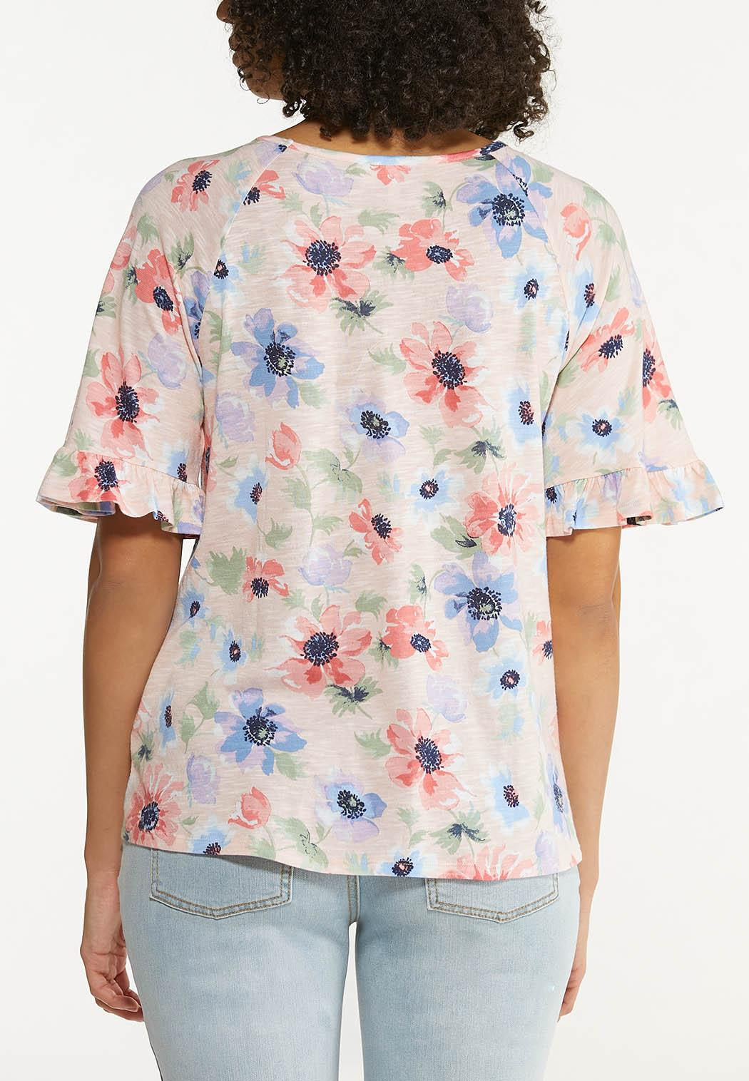 Pink Floral Top (Item #44560614)