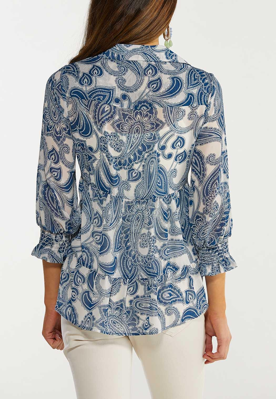 Tiered Paisley Top (Item #44561898)