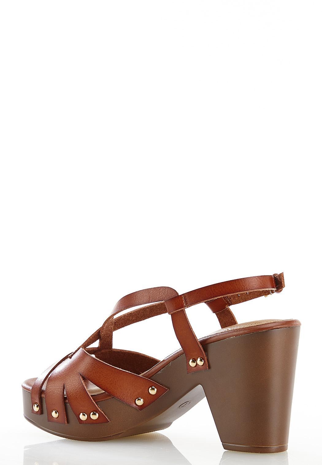 Wide Width Slingback Platform Sandals (Item #44561985)