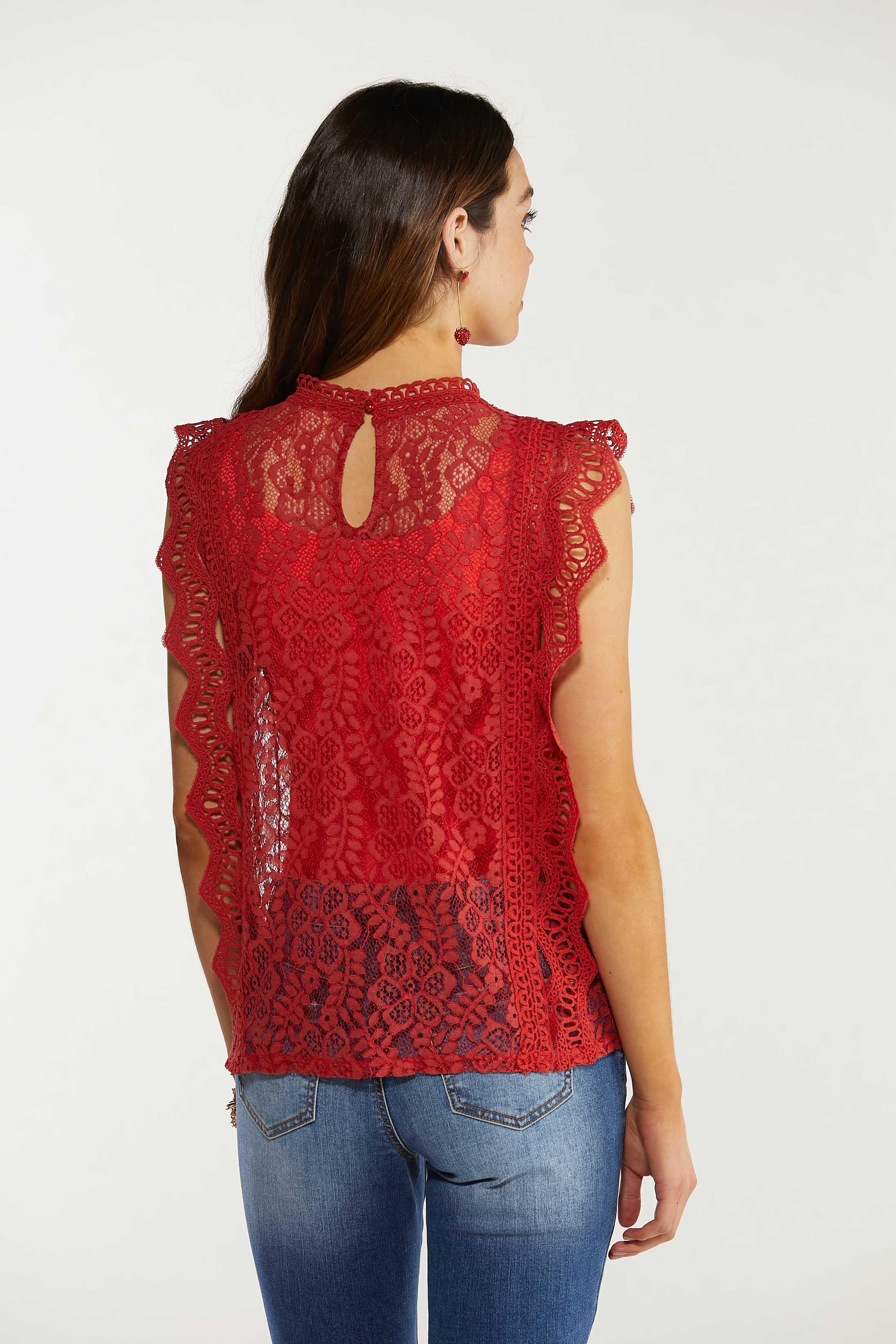 Spice Crochet Tank (Item #44565605)