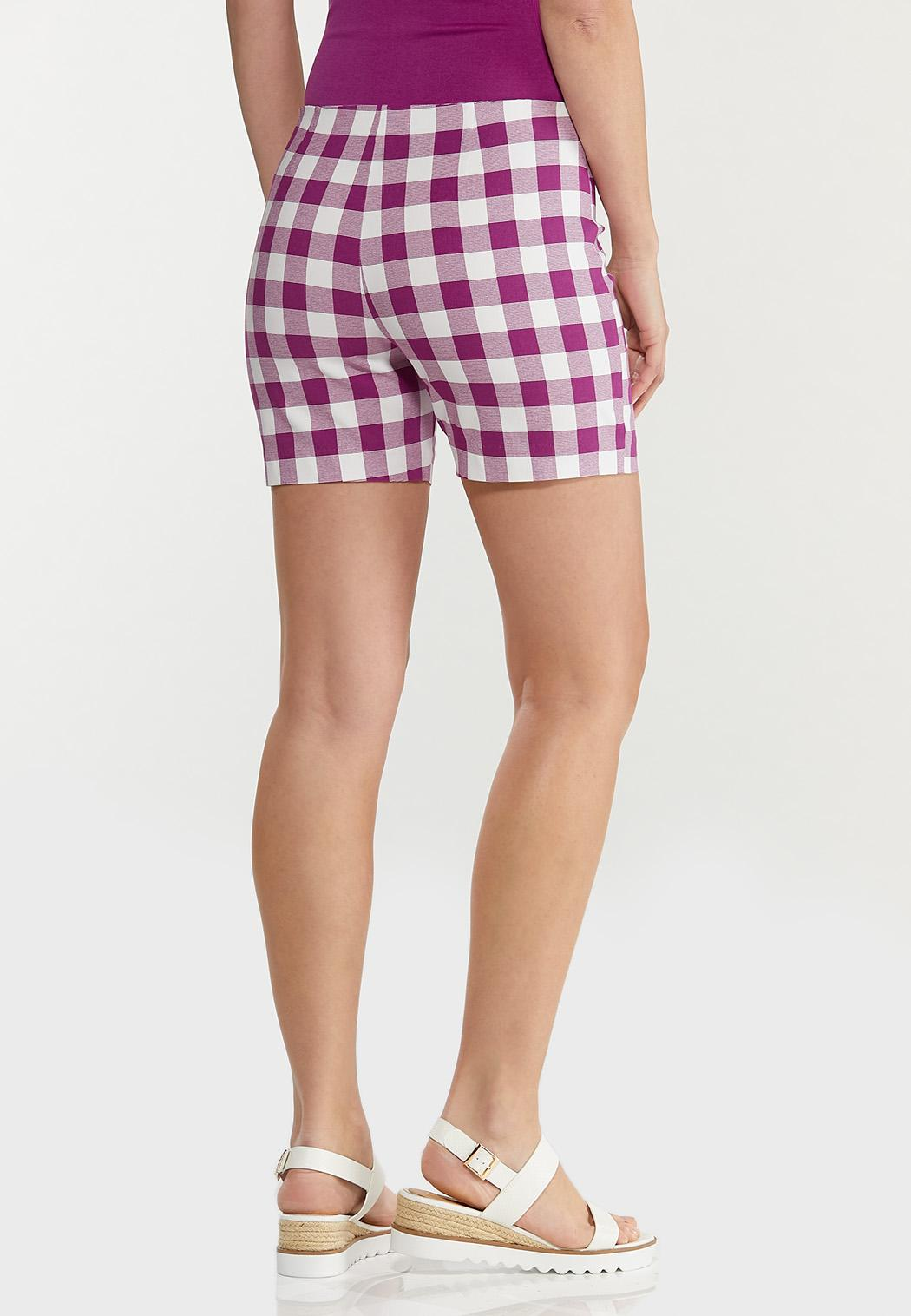 Gingham Bengaline Shorts (Item #44566401)
