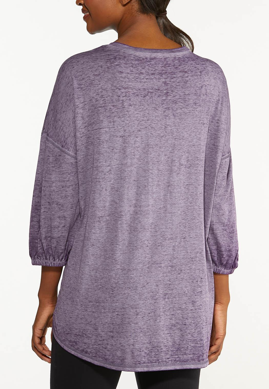 Plus Size Power In Kindness Tunic Top (Item #44567577)