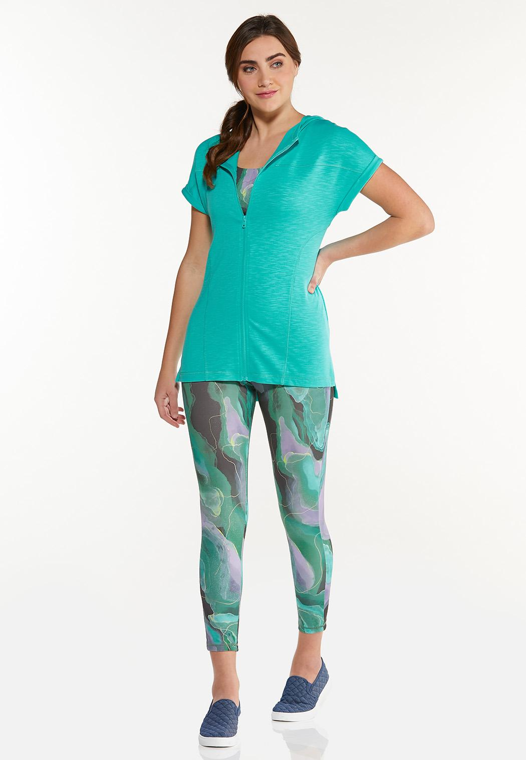 French Terry Zippered Top (Item #44567617)