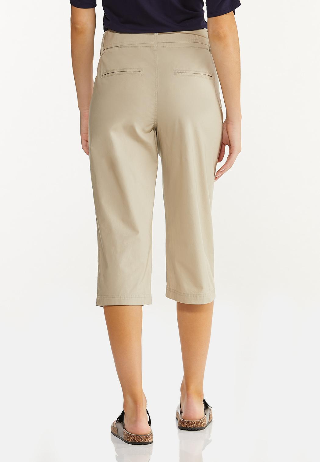 Cropped Poplin Utility Pants (Item #44568363)