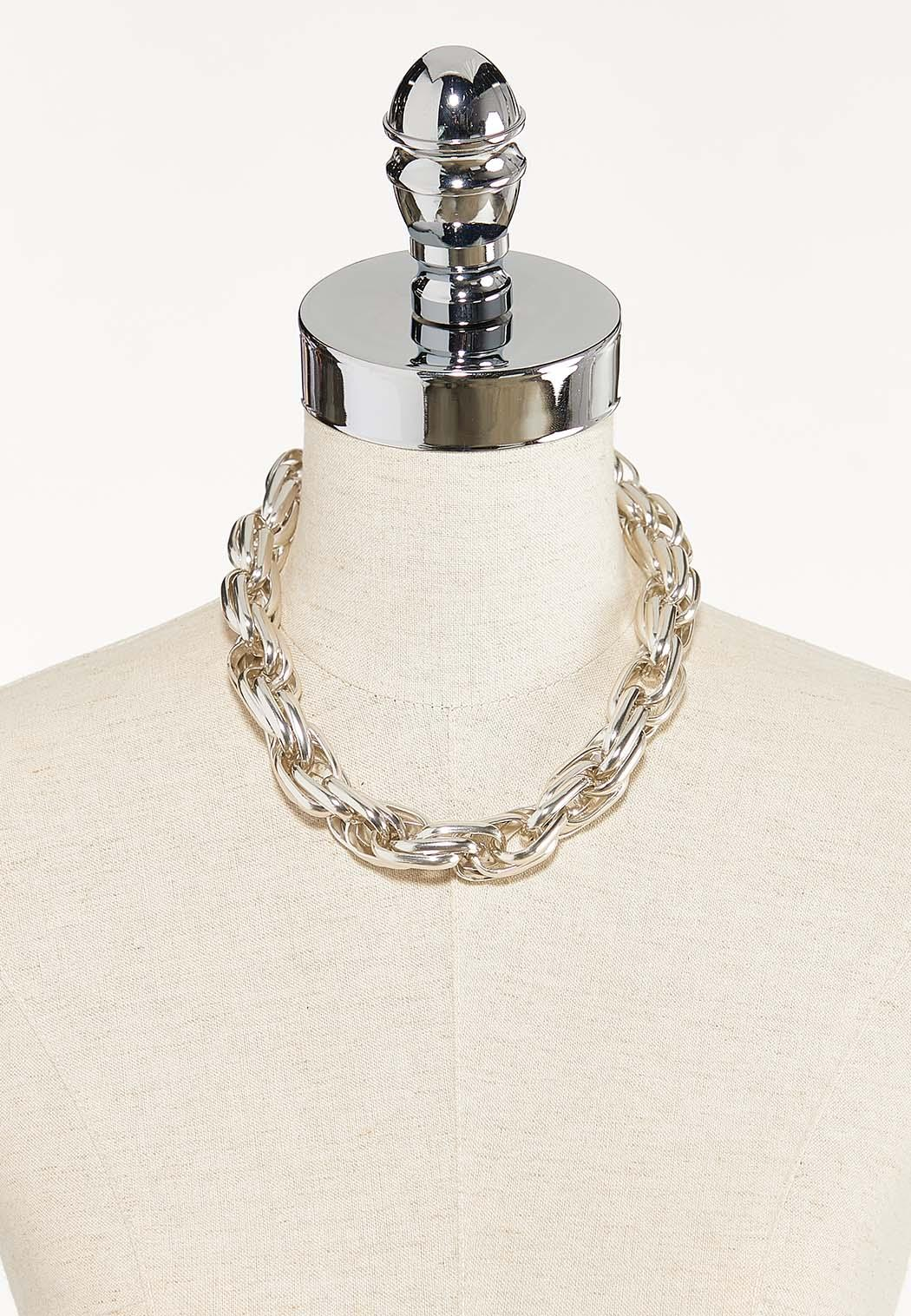 Chunky Chain Short Necklace (Item #44568820)