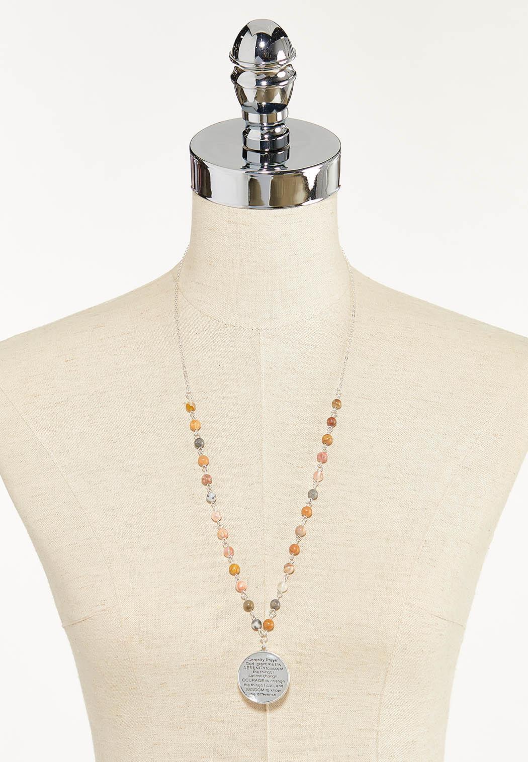 Beaded Prayer Necklace (Item #44569623)