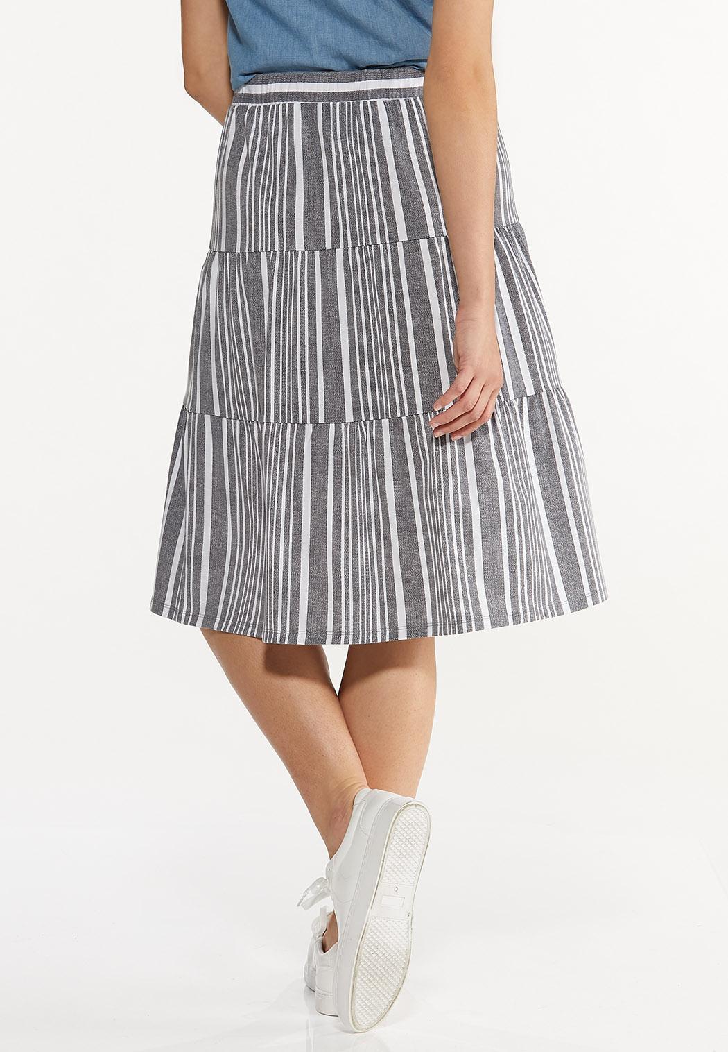 Blue Striped Skirt (Item #44570037)